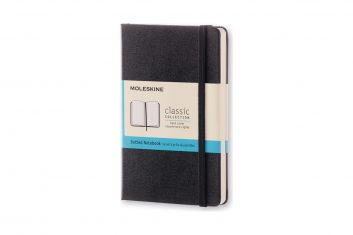 Moleskine Classic Black S HD notes kropki