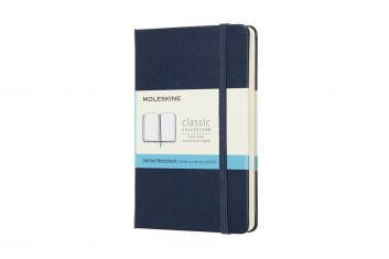 Moleskine Classic Navy S HD notes kropki
