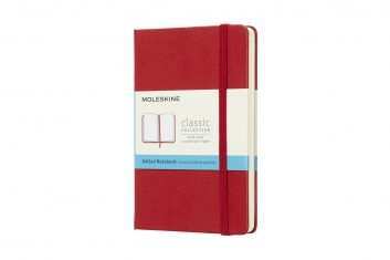 Moleskine Classic Red S HD notes kropki