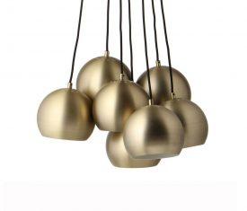 Lampa wisząca Frandsen Ball Multi Antique Gold