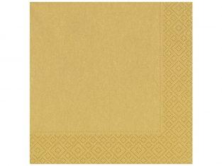 Serwetki Gold 33x33cm