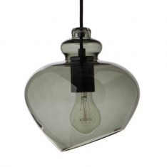Lampa wisząca Frandsen Grace Green Black ⌀23cm