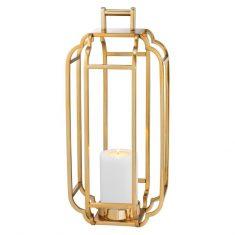 Lampion Palisades Gold Eichholtz 25x25x55cm