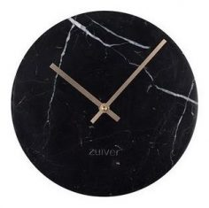 Zegar Marble Black 25×4,5cm