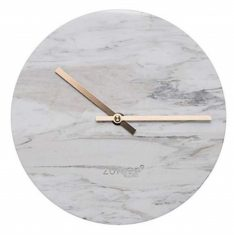 Zegar Marble White 25×4,5cm