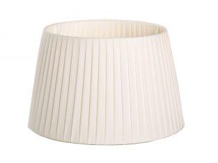 X Abażur Plisse Cream 23x30x18cm