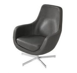 Fotel obrotowy Stefani Leather swivel Sits