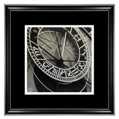 Fotografia Clock Zodiac 40x40cm