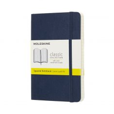 Moleskine Classic Sapphire S SC notes kratka