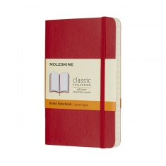 Moleskine Classic Red S SC notes linie