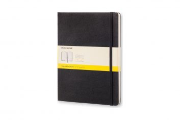 Moleskine Classic Black XL HD notes kratka
