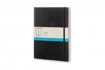 Moleskine Classic Black XL SC notes kropki