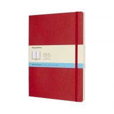 Moleskine Classic Red XL SC notes kropki