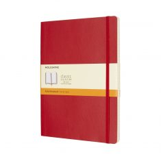 Moleskine Classic Red XL SC notes linia