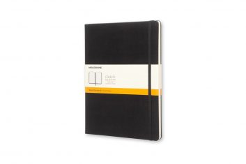 PL Moleskine Cl. Black XL HD notes linia