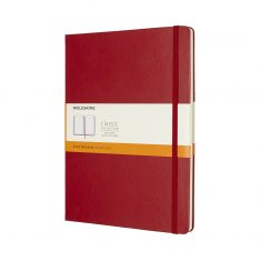 Moleskine Cl. Red XL HD notes linie