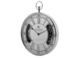 Zegar ścienny BBHome Roman Silver White 51cm