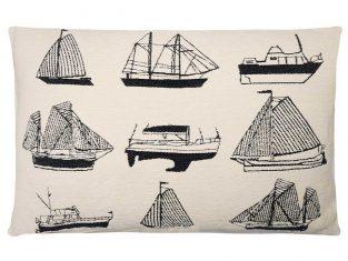 Poduszka dekoracyjna FS Home Collections Yachting White 45x65cm