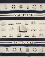 Pled FS Home Collections Yachting Nautic Club 140x200cm