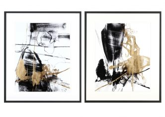 Obraz reprodukcja Glam & Black III & IV J. Goldberger