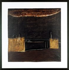 Obraz repodukcja- Noir et Or 1 D. Jacquier 2008 105×105