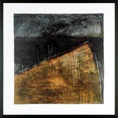 Obraz reprodukcja- Noir et Or 2 D. Jacquier 2008 105×105