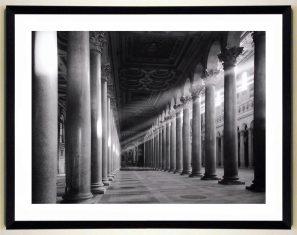 Fotografia Roma Collonade St. Paul 90x70cm