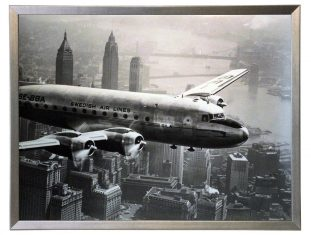 Fotografia Plane Over Manhattan 81x61cm