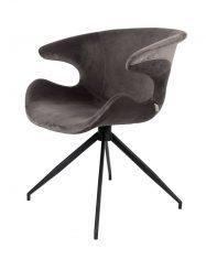 Krzesło/ fotel Mirelille Grey 62x63x78,5cm Zuiver
