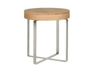 Stolik okrągły ze schowkiem Secret Sits 50cm