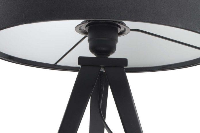 Orentalny Lampy stojące czarne salon polskich producentów