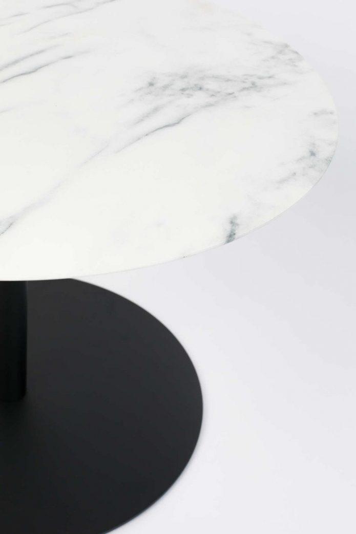 W stylu nowojorskim dywany czarne jadalnia aranżacja