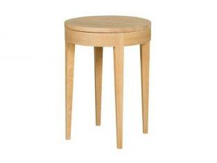 Stolik boczny ze schowkiem Secret Wood Sits