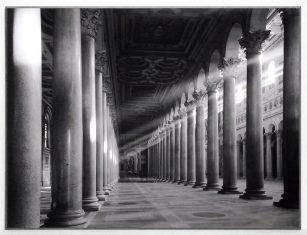Fotografia Roma Collonade St. Paul 81x61cm
