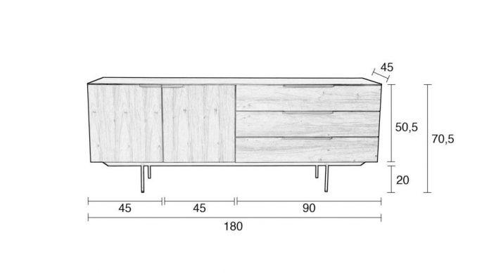 Modern stolik kawowy drewiane jadalnia design