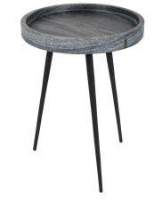 Stolik Carrara Marble Grey 33x45cm