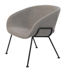 Fotel Feston Lounge Grey 71x66x72cm Zuiver