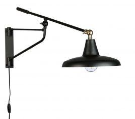 Lampa ścienna Hugo Black 93x26x30cm