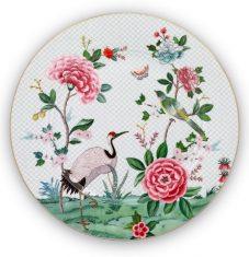 Półmisek Pip Studio Blushing Birds Crane White 32cm