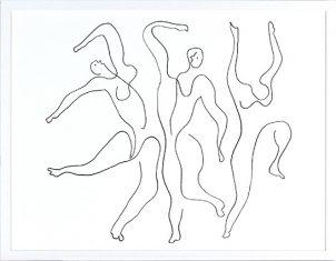 Grafika- Etude Pour Mercure P. Picasso 1924