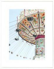 Fotografia Carousel Spinning 75x95cm