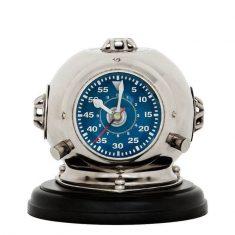 Zegar stojący Eichholtz Odyssey Helmet Blue 18x19cm