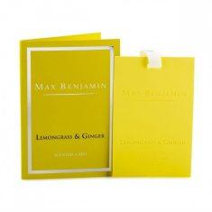 Zawieszka zapachowa Max Benjamin Lemongrass Ginger