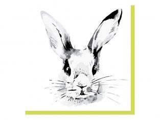 Serwetki Bunny Face 33x33cm