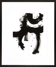 Obraz reprodukcja Onyx Gesture I J. E Vess 85x100cm