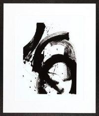 Obraz reprodukcja Onyx Gesture II  J. E. Vess 85x100cm