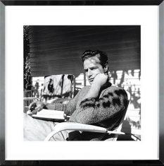 Fotografia Marlon Brando Cigarette 70x70cm