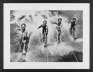 Fotografia Water Ski Splash 65x85cm