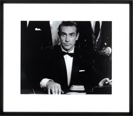 Fotografia Sean Connery as Bond in Dr. No 75x65cm