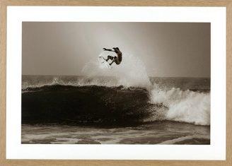 Fotografia Surfing Aerial Andino 75x105cm